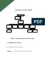 7. Distribucion de La Planta Lavadora