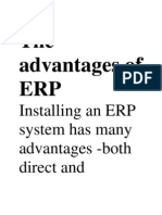 The Advantages of ERP