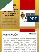 APLICACIÓN DE LECTURAS MULTISENSORIALES DE LOS RESTAURANTES DEL
