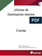 Informe de iluminación interior