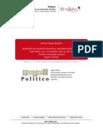 BENJAMÍN HERRERA desarrollos geopoliticos en el sistema interancional