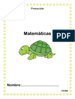 Matemáticas Hojas de Trabajo Preescolar