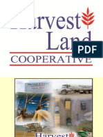 Harvest Land Cooperative Social Media
