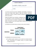 Análisis SWOT o FODA y matriz EFI