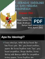 Pancasila Sebagai Ideologi Bangsa Dan Negara Indonesia