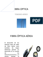 fibra optica aerea
