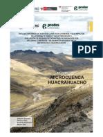 Analisis Historico de Eventos Climaticos Extremos y Sus Impactos en Apurimac y Cusco y Caracterizacion y Evaluacion de Riesgos de Desastres Ocasionados Por Peligros Climaticos y de Remocion en Masa en La Microcuenca Huacrahuacho