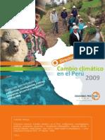 Cambio Climatico en El Peru 2009
