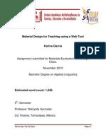 Adapting Material for Teaching