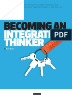 Becoming an Integrative Thinker
