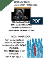 Teori Mcgregor