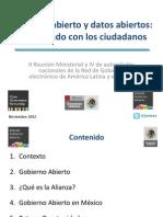 Gobierno Abierto Costa Rica