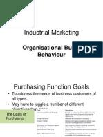 Organisational Buyer Behaviour