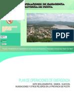 Plan de Operaciones de Emergencia Provincia de Picota