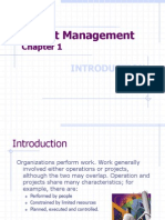 Chapter 1a - Purpose & Function of Project Mgnt