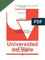 CARACTERIZACIÓN DEL PROCESO PRODUCTIVO DEL PAN DE JAMÓN VENEZOLANO
