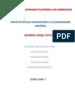Proyecto Introduccion a La Comunicacion Cientifica