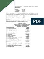 EJERCICIO 4 costos