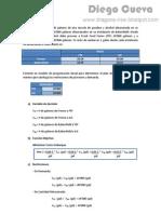 19556105 Ejercicios de Programacion Lineal