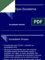 Tipos Societários
