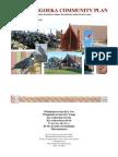 Hongoeka Community Plan Sept 2012