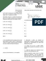 LOGIC Revisão de Trigonometria