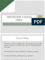 Dentición y Edad ósea