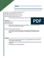 Wiki Resume