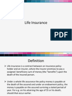 Lecture- 6 Life Insurance