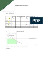 Problemas de Metodo Grafico