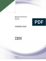 TSM 6.3 HP-UX Installation Guide