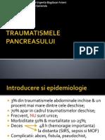 Traumatismele pancreasului