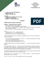 Direito Penal Especial - 02ª Aula - 26.11.2008