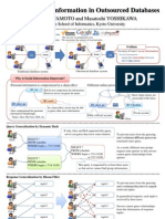 Securing Social Information in Outsourced Databases (iDB 2008 Poster)