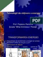Tehnologii de Obtinere a Energiei