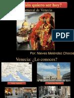 Mascaras de celebración -venecia