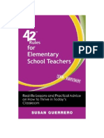 42 Rules for Elementary School Teachers (2nd Edition)