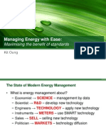 Managing Energy With Ease