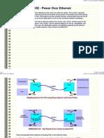 POE Power Over Ethernet Standart