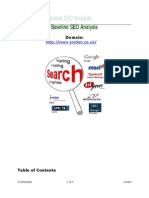 Jordon.co.Uk SEO Preliminary Analysis Report 22122011