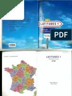 Latitudes 1 Methode de Francais
