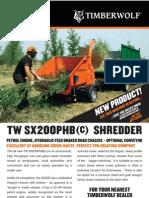 SX200 Info Sheet