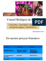 Control Biológico de Plagas de Cultivos