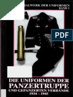 Die Uniformen Der Panzertruppe Und Gepanzerten Verbaende 1934-1945