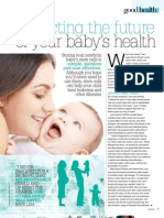 Protecting The Future of Your Baby's Health