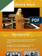 Prog Rock Presentation