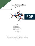 Laporan Praktikum Kimia Laju Reaksi