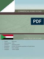Commercial Risks Sudan