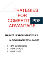 4. Competitive Strategies