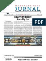 Hardware City Journal - Vol. 3 No. 22 - Nov 4, 2012